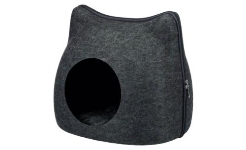 Trixie relax iglo kat vilt grijs