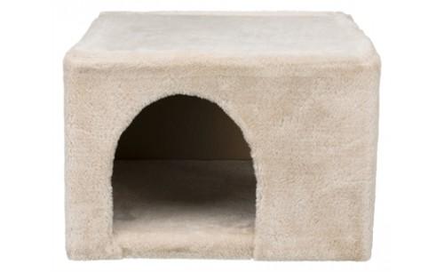 Trixie knaagdierhuis iglo pluche beige